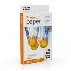 Фотобумага ColorWay глянцевая 230г/м2 10x15 50л (PG2300504R)
