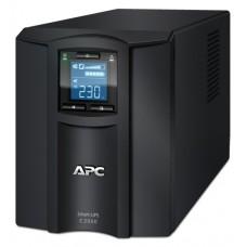 ДБЖ APC Smart-UPS C 2000VA, 1300Вт, 6xIEC, USB, LAN, LCD (SMC2000I)