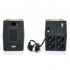 ДБЖ FSP DPV 1500VA 900Вт, 4xSchuko, USB, LCD (DPV1500)