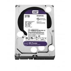 """Жесткий диск 3.5"""" SATA3  3TB  64MB 5400 WD Purple (WD30PURZ)"""
