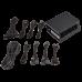 Блок живлення Corsair  750Вт SF750 (CP-9020186-EU) SFX, 92мм, APFC, 8xSATA, 80 PLUS Platinum, модульне підключення