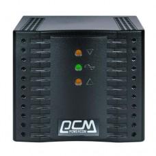 Стабілізатор напруги Powercom TCA-3000 Black 3000VA, 1500 Вт, 176-264 В, релейный, однофазный