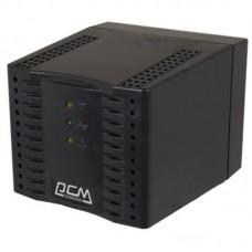 Стабілізатор напруги Powercom TCA-1200 Black 1200VA, 600 Вт, 110-240 В, релейний, однофазний