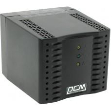 Стабілізатор напруги Powercom TCA-2000 Black 2000VA, 1000 Вт, 176-264 В, релейный, однофазный