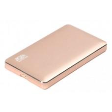 "Внешний карман для HDD SATA 2.5"" AgeStar 3UB 2A16 (Gold) через USB3.0 золотистый"