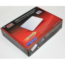 """Внешний карман для HDD SATA 2.5"""" AgeStar 3UB 2A8 (Silver) через USB3.0 серебристый"""