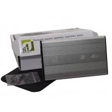 """Зовнішня кишеня для HDD SATA 2.5"""" 1StCharger USB 2.0, Silver алюміній (HDE1STU2520BS)"""