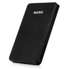 "Внешний карман для HDD SATA 2.5"" Maiwo K2503DU2 Black USB2.0 безвинтов. крепление пластик черный"