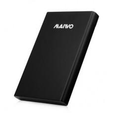"Внешний карман для HDD SATA 2.5"" Maiwo K2568 Black USB3.0 безвинтов. задвиж крепление пластик черный"