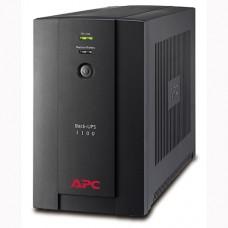 ДБЖ APC Back-UPS 1100VA 550Вт, 6xIEC (BX1100LI)
