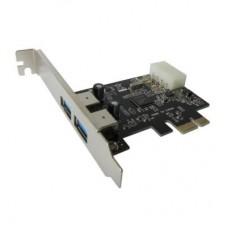 Контроллер PCI-E - USB3.0 Dynamode 2 внешних порта NEC µPD720200 (USB30-PCIE-2)