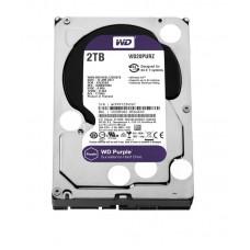 """Жесткий диск 3.5"""" SATA3  2TB  64MB 5400 WD Purple (WD20PURZ)"""