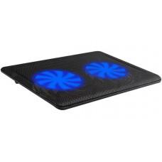 """Підставка для ноутбука ProLogix DCX-007 Black до 15.6"""" 340х250х30-70 мм, вентилятори 2x125мм"""