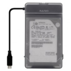 "Внешний карман для HDD SATA 2.5"" Maiwo K104G1 black USB3.1 GEN1 TypeC +защитный контейнер"