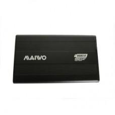 """Внешний карман для HDD SATA 2.5"""" Maiwo K2501A-U3S Black USB3.0 на винтах алюм. черн."""