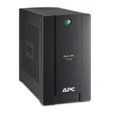 ДБЖ APC Back-UPS 750VA 415Вт, 4xSchuko, USB (BC750-RS)