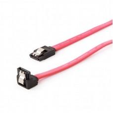 Кабель передачи данных SATA III 0.3м Cablexpert (CC-SATAM-DATA90-0.3M) с угловым разъемом