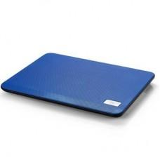 Подставка для ноутбука Deepcool N17 Blue 330 х 250 х 25 мм, 700 г, синяя, 1 вентилятор, алюминий