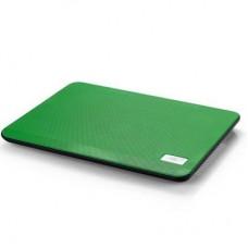 Подставка для ноутбука Deepcool N17 Green 330 х 250 х 25 мм, 700 г, зеленая, 1 вентилятор, алюминий