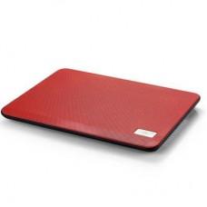 Подставка для ноутбука Deepcool N17 Red 330 х 250 х 25 мм, 700 г, красная, 1 вентилятор, алюминий