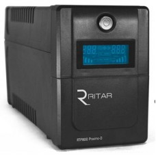 ДБЖ Ritar RTP800 (480W) Proxima-D 3xSchuko, LCD (RTP800D)
