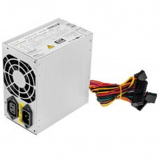 Блок живлення LogicPower  400Вт ATX-400W-80 (0001922) ATX 80мм, 2xSATA, OEM (без кабеля живлення 220В)