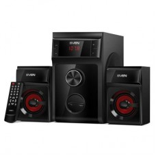 Акустика 2.1 SVEN MS-302 black 20Вт+2x10 Вт (RMS) С встроенным SD-кардридером, С встроенным FM