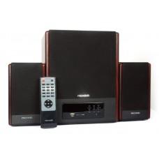 Акустика 2.1 Microlab FC530U + ДУ, USB, SD card, FM тюнер, cат. 2x18 Вт , саб. 28 Вт