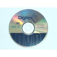 Диск DVD+R Digitex 4.7 GB, 16x  1шт