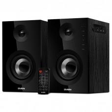 Акустика 2.0 SVEN SPS-721 Black Bluetooth 50 (2×25)Вт