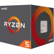 Процесор AM4 AMD Ryzen 5 1600 6 ядер / 12 потоков / 3.2-3.6ГГц / 16МБ / DDR4-2666 / PCIE3.0 / 65Вт / BOX / Wraith Spire cooler  (YD1600BBAEBOX)