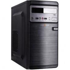 Корпус LogicPower 6106-400W (11063) mATX, 2xUSB2.0, БЖ 400Вт 8см, Mini-Tower, Чорний
