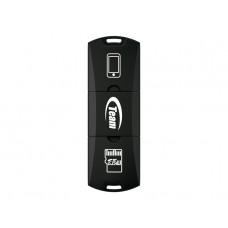 Кардридер внешний USB2.0 Team M141 Black (TM141B01)