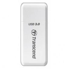 Кардридер внешний USB3.0 Transcend TS-RDF5W Белый