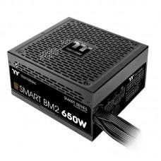 Блок живлення Thermaltake  650Вт Smart BM2 (PS-SPD-0650MNFABE-1) ATX, 140мм, APFC, 6xSATA, 80 PLUS Bronze, модульне підключення