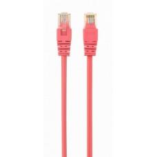 Патч-корд литий  1,0 м Cablexpert RJ45 UTP кат.5е рожевий (PP12-1M/RO)