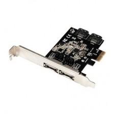 Контроллер ST-Lab A-480 2xSATA, 2xeSATAIII 6.0Gbps, PCI-E
