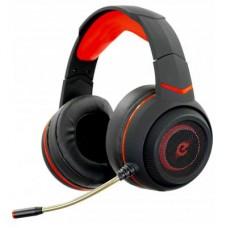 Гарнітура ERGO GН250 Black-red Gaming RGB USB, mini-jack (разъем 3.5 мм)