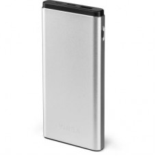 Батарея універсальна Vinga 10000 mAh QC3.0 PD aluminium silver (BTPB1010QCALS)