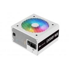 Блок живлення Corsair  550Вт CX550F RGB White (CP-9020225-EU) ATX, 120мм, APFC, 7xSATA, 80 PLUS Bronze