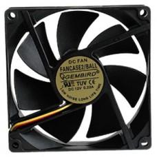 Вентилятор Gembird  90х90х25 мм (FANCASE2) 3pin