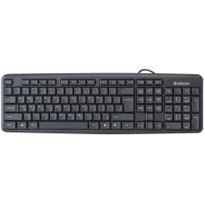 Клавиатура Defender Element HB-520 (45520) черная, классическая, PS/2