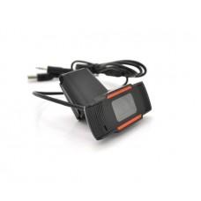 Веб-камера Merlion F37 480p, пласт. корпус, Black (18219)