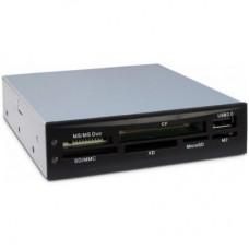 """Зчитувач флеш-карт Nitrox USB2.0 3.5"""" SD/MMC/MS/CF/xD/Micro SD/M2 (CI-02)"""