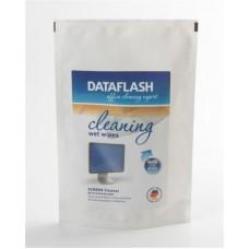 Чистящие салфетки DATAFLASH для TFT/PDA/LCD в пакете (DF1518)