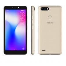 "Смартфон Tecno Pop 2F B1F 1/16GB Champagne Gold (4895180746666) 5.45"" (960х480) TN / MediaTek MT6582 / ОЗУ 1 ГБ / 16 ГБ вбудованої + microSD до 128 ГБ / камера 5 Мп + 8 Мп / 3G (WCDMA) / Bluetooth / Wi-Fi / GPS / A-GPS / ОС Android 8.1 (Oreo) / 151.3"
