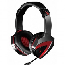 Гарнітура A4-Tech G500 Bloody (Black+Red) 3.5mm ігрова
