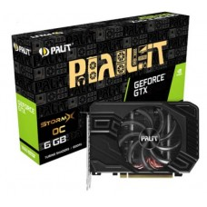 Відеокарта PCI-E nVidia GTX1660 SUPER PALIT StormX OC 6ГБ (NE6166SS18J9-161F) GDDR6 / 192bit / 1830/14000MHz / DVI / HDMI / DP