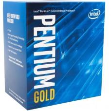 Процесор 1200 Intel  Pentium G6400 2 ядра / 4 потоки / 4.0ГГц / 4МБ / UHD610 (1050МГц) / DDR4-2666 / PCIE3.0 / 58Вт / BOX (BX80701G6400)