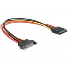 Переходник питания SATA - SATA 0.15m Cablexpert (CC-SATAMF-01)